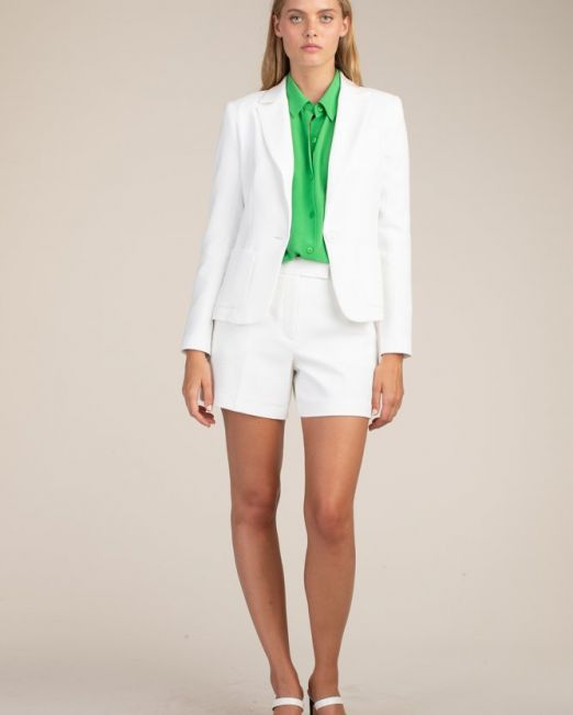 Trina Turk Marat Jacket | Whitewash