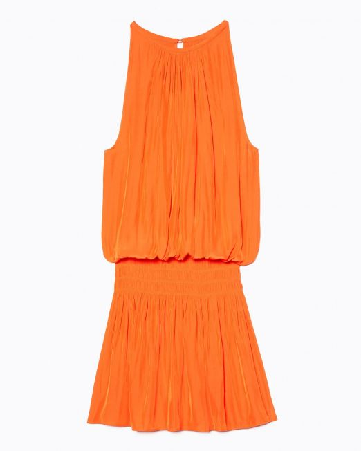 Ramy Brook Paris Slvls Dress Candy Orange
