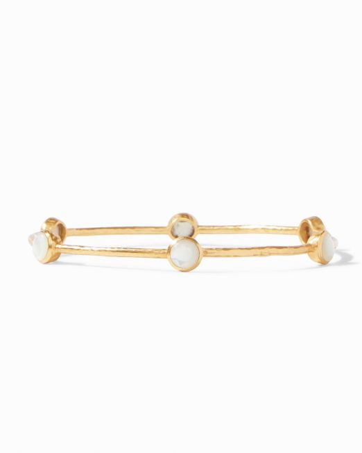 Julie Vos Milano Bangle- MOP