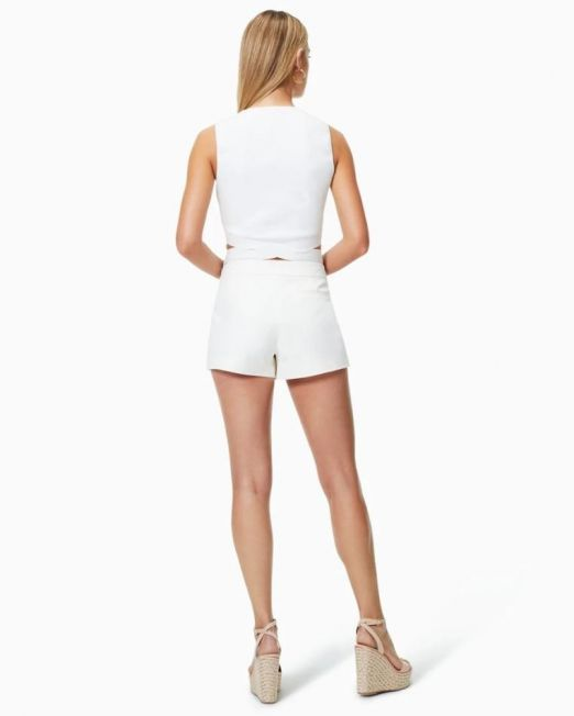 Ramy Brook Luxe Adele Short Ivory