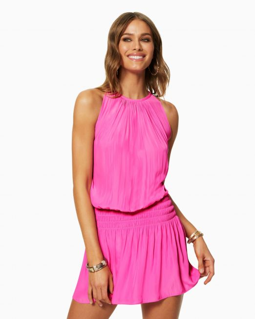 Ramy Brook Paris Slvls Dress Pink