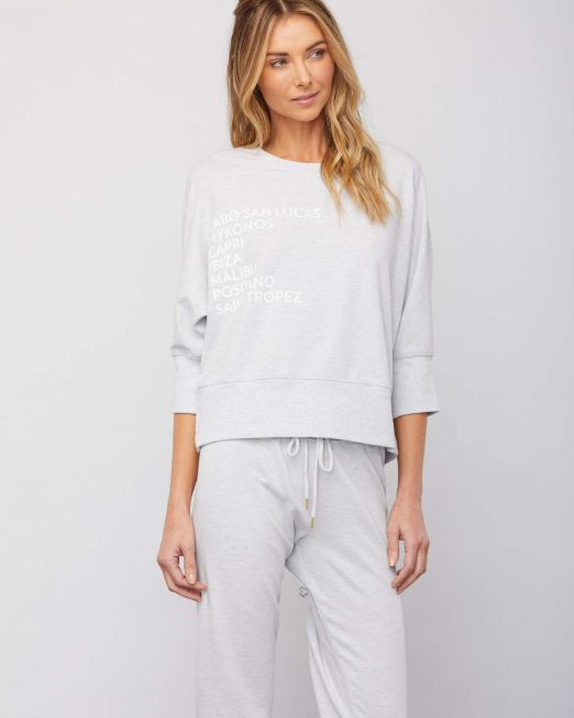 Sundays Cabo Top Grey