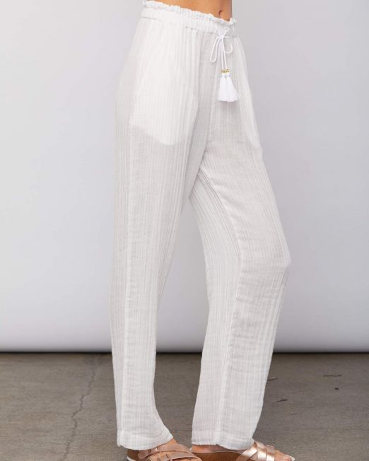 Sundays Hudson Pant Powder Stripe side