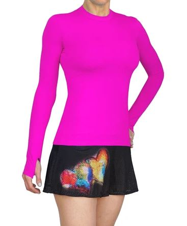 Lacoa UPF Long Sleeve Cherry Pink 1