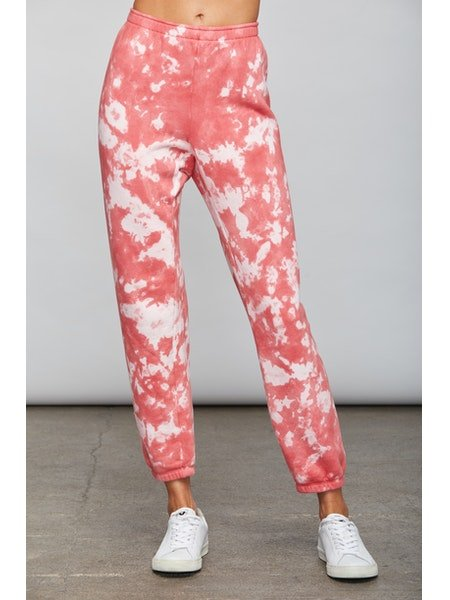 Wayne Jogger - Pink Cloud Wash