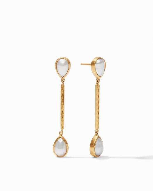 Cassis Duster Earring Pearl